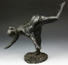 Bronze Nude Dancer