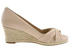 Cole Hann - Air Camila OT Wedge 65    Love beige shoes