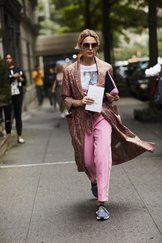 New York Fashion Week Street Style Spring 2018 #womensnewfashionstyles