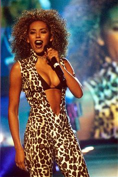 Scary Spice was fiercer than any leopard in the wild. #leopard #leopardprint #melb #spicegirls