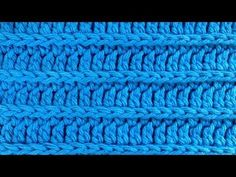Crochet Royal Ridge Stitches - Free Dishcloth Pattern - YouTube