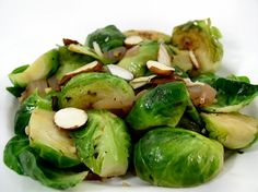 Brussels Sprouts with Basil and Garlic | recipe from FatFree Vegan Kitchen