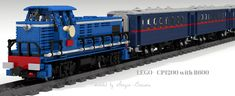 Lego - with Boy Toys, Toys For Boys, Lego Building, Building Design, Lego Train Station, Lego Vehicles, Lego Trains, Rolling Stock, Lego Projects
