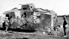 wwI german tank, knocked out - Google Search