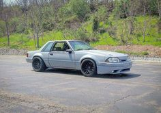 Murdered Out Fox Body Mustang