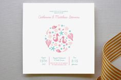 Sweet Seahorses Baby Shower Invitations by Oma N. ... | Minted