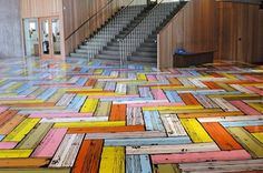 Graphic Floors by Richard Woods