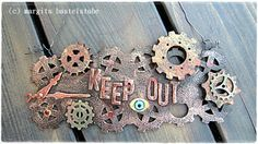 Steampunk, Crochet Earrings, Charmed, Bracelets, Jewelry, Cards, Jewlery, Jewerly, Schmuck