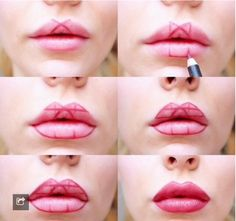 Makeup Tips and Tricks — imajina-con-jota: ¿Cómo tener labios carnosos...