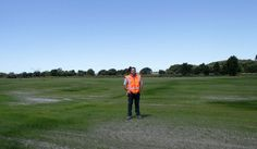 STARK CHANGE: Canterbury Earthquake Recovery Authority residential red-zone contracts manager Tim Pow stands in the first completed block clearance of residential sections. One of Canterbury's first residential red-zone areas has been turned into one of the region's first earthquake-related green spaces.    A 25,000 square-metre area in Courtenay Dr in Kaiapoi used to be home to 23 houses, but the September 2010 and February 2011 earthquakes badly damaged the land and forced their…