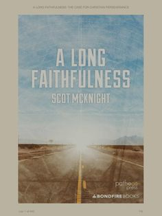 """#EmptyShelf 6 : A Long Faithfulness. This little book from Scot McKnight effectively challenges the Calvinist notion of """"eternal security"""" (and consequently meticulous sovereignty) with a thorough analysis of Hebrews. A sobering reminder to Christians of the need to persevere in our faith."""