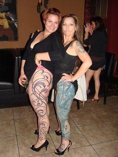 Tattooed big tits chubby masturbation