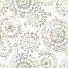 """Fun-filled and whimsical, update your space with this Iliana Bohemian 16.5' L x 20.5"""" W Floral and Botanical Peel and Stick Wallpaper Roll. Offering a fun and fresh way to decorate, peel and stick wallpaper is printed on high quality vinyl that is repositionable and removable, making it a go-to, budget-friendly choice for both temporary and permanent projects. Perfect for accent walls, furniture, backsplashes, DIY decor, and more, simply peel and stick to install. Completely easy, cr..."""