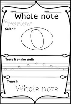 Music Trace and Color sheets by Anastasiya Multimedia Studio Music Writing, Reading Music, Kids Writing, Piano Lessons, Music Lessons, Piano Songs For Beginners, Music Games, Piano Classes, Music Theory Worksheets