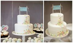 Love this simple cake topper