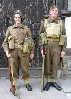 British Late and Early WW2 Uniforms