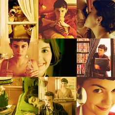 Amelie Poulain by © brightendofnowhere) Audrey Tautou, Light Cinema, French Chic, French Style, Quirky Girl, Inspirational Movies, Losing A Child, Photographs Of People, French Films