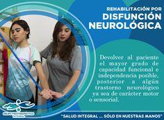 Rehabilitación en pacientes con alguna disfunción neurológica. En esta rehabilitación se busca generar el diagnóstico, evaluación, prevención y tratamiento de la incapacidad. ¡Te esperamos en Grupo Fisioterapéutico Integral para ayudarte!
