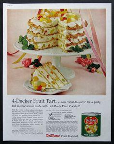 healthy fruit tart fruit cocktail cake