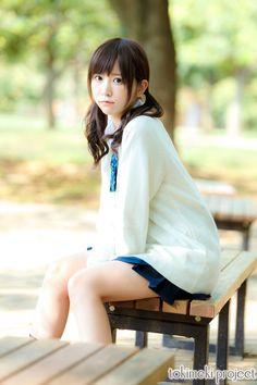 School Girl Japan, School Girl Outfit, School Uniform Girls, Girls Uniforms, High School Girls, Japan Girl, School Uniforms, Asian Cute, Beautiful Asian Girls