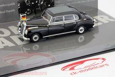 CK-Modelcars - 436039000: Mercedes-Benz 300b канцлер Конрад Аденауэр 1955 1:43 Minichamps, EAN 4012138093171