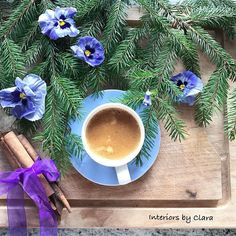 Hello. I'm just between autumn and winter. There are pansies still blooming on my balcony but I started to collect fir twigs for Xmas decor U mnie jesień z zima się przeplata. Bratki ciagle kwitną a ja zbieram już iglaste gałęzie pod świąteczne dekoracje