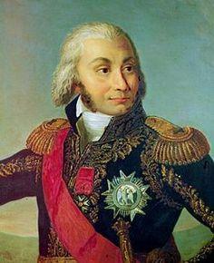 Le maréchal Jean-Baptiste Jourdan (peinture d'école française) né le 29 avril 1762 à Limoges, dans la Haute-Vienne et mort le 23 novembre 1833 à Paris. Vainqueur de la bataille de Fleurus 26 juin 1794.Tenu à l'écart par Napoléon Ier en raison de son attachement aux valeurs de la République