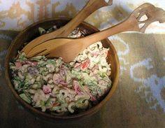 blt mac salad