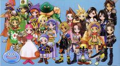 TGS 2016 : Itadaki Street : Dragon Quest X Final Fantasy - Un nouveau party-game…