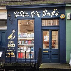 15 Charming Edinburgh Bookshops You Must See Before You Die - Go down Golden Hare Books' rabbit hole to increase your reading list ten-fold. The charming shop features novels, children's books, and design readers
