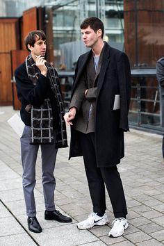On the street…After Louis Vuitton, Paris