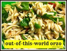 a-n-n-a-l-e-e: OUT OF THIS WORLD ORZO...