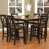 Found it at Wayfair - Berkshire 7 Piece Counter Height Dining Set    This would look amazing in our eat in kitchen