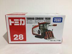 Takara Tomy Tomica Series  No.28 Yanmar Combine YH 590 Japan #TAKARATOMY