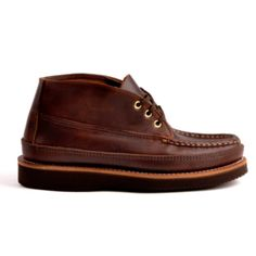 Russell Moccasin X Horween Sporting Clays Chukka avail now at Shop.doubleselect.com