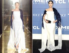 Fan Bingbing In Georges Chakra Couture - 'X-Men Days Of Future Past' World Premiere