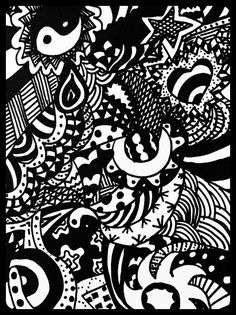 More black and white pattern