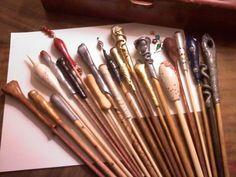 Harry Potter Wands!! - POTTERY, CERAMICS, POLYMER CLAY