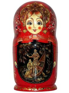 Russian Doll. http://www.pinterest.com/MatryoshkasSoap/one-of-a-kind-matryoshka/