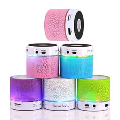 >> Click to Buy << LED Portable Mini Wireless Bluetooth Speakers Hands Free Speaker With TF USB FM Mic Blutooth Music For Mobile Phone iPhone 6 7 s #Affiliate