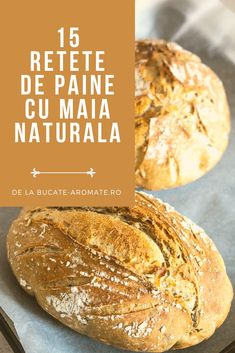 Bread Recipes, Cooking Recipes, Healthy Recipes, Romanian Food, Just Bake, Healthy Life, Bakery, Good Food, Food And Drink