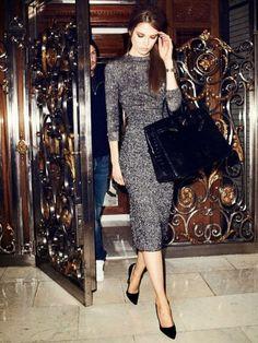 25 shades of grey women office wear ideas
