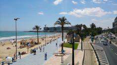 Playa del Postiguet en Alicante, Valencia