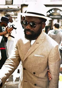 Sam Lambert. Summer. Style. Beard. Fashion. Suit. artcomesfirst.
