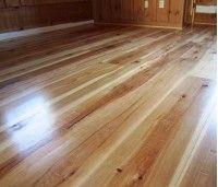 Hickory hardwood wide plank flooring mill-direct and USA made. Custom plank sizes, unfinished or prefinished. Hickory Wood Floors, Oak Laminate Flooring, Wide Plank Flooring, Mahogany Flooring, Types Of Wood Flooring, Diy Wood Floors, Wooden Flooring, Flooring Ideas, Interior Design Kitchen