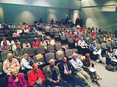 Live audience at the #CCAC All College Day meeting! This event was also live streamed to all #CCAC campuses.