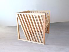 Sculptural Cubic Furniture - This Chair Blends Functionality and Design Seemlessly (GALLERY)