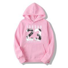611d8186e5f3c WZZAE Autumn 2018 New Women Men s Casual Players JORDAN 23 Print Hedging  Hooded Fleece Sweatshirt Hoodies Pullover Size S-XXXL