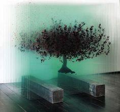 Artist Ardan Özmenoğlu creates extraordinary 3D artworks by painting glass…