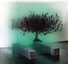 Artist Ardan Özmenoğlu creates extraordinary 3D artworks by painting glass panels and layering them into one consistent three-dimensional picture, in this case a tree. The artist uses clear or semi-clear materials like paper and glass as an art board. She basically separates the objects which she is interested in drawing into layered pictures. Each piece of glass, each layer, looks abstract. Only when she combines them in rows one can see the whole of the artwork. A noteworthy quality of her…
